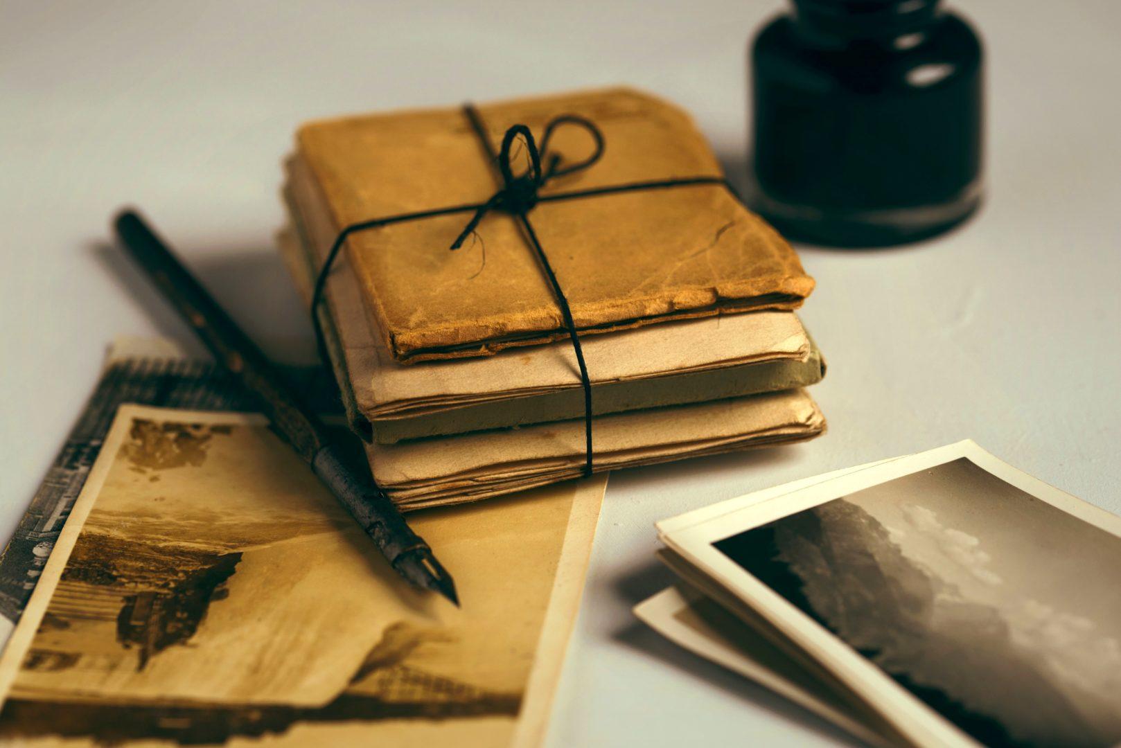 Nieopowiedziane historie – warsztaty poszukiwania zapomnianych opowieści tworzenia junk journali
